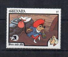 Grenada - 1989 - Francobollo Tematica Disney - Ben And Ale - Nuovo - (FDC19463) - Grenada (1974-...)
