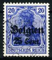 BES 1WK LP BELGIEN Nr 18a Gestempelt X629CF2 - Occupation 1914-18