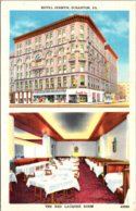 Pennsylvania Scranton Hotel Jermyn And The Red Laquer Room - United States