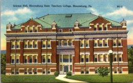 Pennsylvania Bloomsburg State Teachers College Science Hall - United States