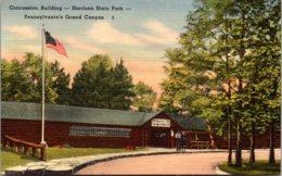 Pennsylvania Harrison State Park Concession Building - United States