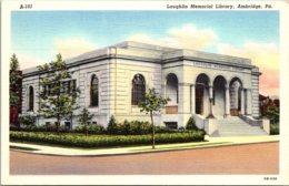 Pennsylvania Ambridge Laughlin Memorial Library Curteich - United States