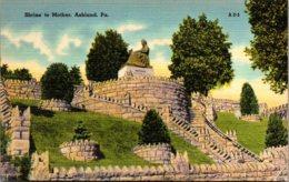 Pennsylvania Ashland Shrine To Mother - United States
