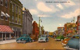 Pennsylvania Aliquippa Franklin Avenue 1950 - United States