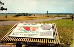 Pennsylvania Gettysburg Pickett's Charge Marker - United States