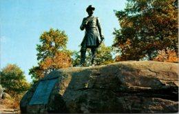 Pennsylvania Gettysburg Little Round Top General Warren Monument - United States