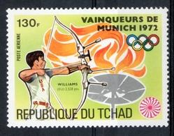Ciad Chad 1972 - Tiro Con L'arco Archery MNH ** - Boogschieten