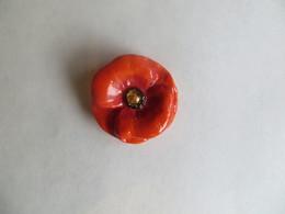 Fève Perso Ladurée Paris Fleur Porcelaine émaillée : Le Coquelicot - 2020 - Neuve - Fèves