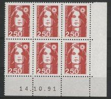 N° 2715 ** (MNH). Coin Daté Du 14/10/91. TB - 1990-1999