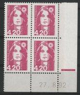 N° 2770 ** (MNH). Coin Daté Du 27/08/92. TB - 1990-1999