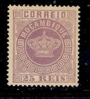 ! ! Mozambique - 1881 Crown 25 R (Perf. 13 1/2) - Af. 12 - MH - Mozambique