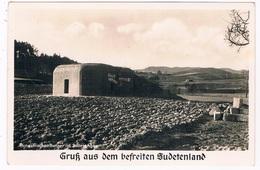 D-10411   SUDETENLAND : Tschechischen Bunker In Sudetengau - Sudeten