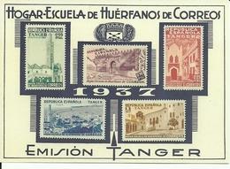 ESPAÑA BENEFICENCIA - Spanisch-Marokko