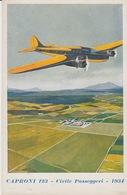 ILLUSTRATORE - ILLUSTRATEUR - FERRARI - CAPRONI 123 - CIVILE PASSEGGIERI 1934 - 1919-1938: Entre Guerres