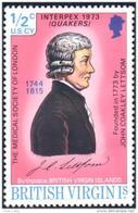 934 British Virgin Islands Quakers Medical Society London MNH ** Neuf SC (VIR-6a) - Iles Vièrges Britanniques
