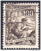954 Yougoslavie Mineur Miner Coal Mines Mining Charbon Houille (YUG-180) - Minerals