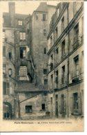 75004 - PARIS Historique - Cloître Saint-Paul (XVIe Siècle) - édit. LJ - Paris (04)