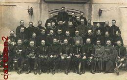 CARTE PHOTO : NIMES 38eme 53e 2e REGIMENT COLONEL GENERAUX LIEUTENANT CAPORAL SOLDATS POILUS GUERRE MILITARIA - Nîmes