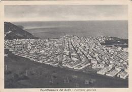 CASTELLAMMARE DEL GOLFO-TRAPANI-PANORAMA GENERALE -CARTOLINA VIAGGIATA IL 15-9-1937 - Trapani