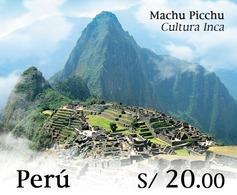 Peru 2020 Inca Culture Machu Picchu - Peru