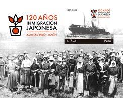 Peru 2020 120 Anniversary Of Japanese Immigration - Peru
