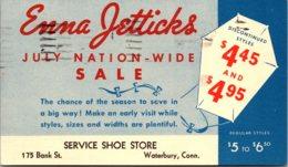 Connecticut Waterbury Enna Jetticks Service Shoe Store 1942 - Waterbury