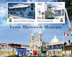 Peru 2020 Historic Centre Of The City Of Moquegua - Peru