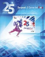 Peru 2020 25th Anniversary Of The Post Office - Peru
