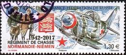 Oblitération Cachet à Date Sur Timbre De France N° 5167 - Régiment De Chasse Normandie-Niemen - Frankreich