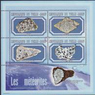 CHAD 2001 - Scott# 932 S/S Meteorites MNH - Chad (1960-...)