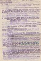 Troupes De L'Indochine. Lieutenant Troyes (Hà Tinh, Thanh-Thuy, Hué, Etc.) Etablissement Du Travail D'avancement.1931 - Documenti