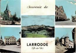 Larrodde Souvenir 1963 Coin Plié    CPM Ou CPSM - France