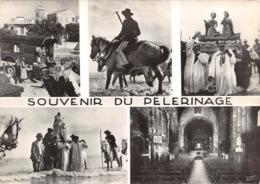 13 LES SAINTES MARIES DE LA MER  Souvenir Du Pelerinage En Camargue 59 (scan Recto Verso)KEVREN0689 - Saintes Maries De La Mer