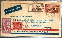27343 - PONT DU GARD PAR AEROPOSTALE - Marcophilie (Lettres)