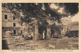76)  VEULES Les ROSES  - Jardins Du Grand Hotel Et De La Place - Veules Les Roses