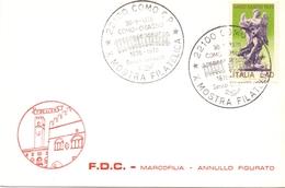 COMO ESPOSIZIONE FILATELICA 1976 FDC      (GENN200923) - Esposizioni Filateliche