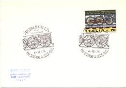 BOLOGNA CENTRO  SESSIONE A.I.C.C.F U.I.C 1975        (GENN200928) - Esposizioni Filateliche