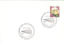 TORINO  MOSTRA DI FILATELIA FERROVIARIA 1988  (GENN200935) - Esposizioni Filateliche
