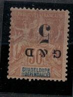 GUADELOUPE       N°  YVERT  : 45b    NEUF AVEC  CHARNIERES      (  CH  02/32) - Neufs
