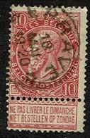 58  Obl Relais Eprave  + 4 - 1893-1900 Fine Barbe