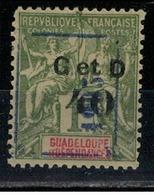 GUADELOUPE       N°  YVERT  : 50f    NEUF AVEC  CHARNIERES      (  CH  02/32) - Guadeloupe (1884-1947)