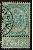 56  Obl Relais  HHollogne-Sur-Geer  + 8 - 1893-1907 Armoiries