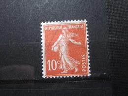 VEND BEAU TIMBRE DE FRANCE N° 138 , TYPE IC , XX !!! - 1906-38 Semeuse Camée