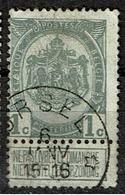 53  Obl Relais  Ursel  + 50 - 1893-1907 Armoiries
