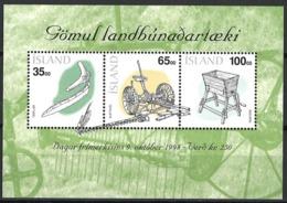 Iceland Island 1998. Mi Block 22, Postfrisch, MNH - Blokken & Velletjes