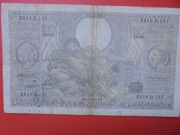 BELGIQUE 100 FRANCS 1935 CIRCULER (B.6) - 100 Francos & 100 Francos-20 Belgas
