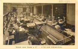 Maison Jean Acker & Cie - Atelier Principal - Intérieur D'une Imprimerie - Pub Expert Comptable Albert Beziers - Vari