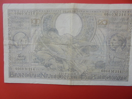 BELGIQUE 100 FRANCS 1939 CIRCULER (B.6) - [ 2] 1831-... : Koninkrijk België