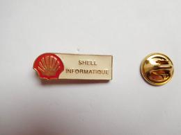 Beau Pin's  , Carburant Essence , Oil , Huile , SHELL , Informatique , Signé AMK - Fuels