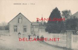 51 // BANNES  L'école - Autres Communes